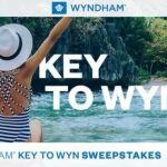 Wyndham Key to Wyn Sweepstakes (wyndham.promo.eprize.com)