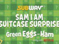Subway Sam I am Suitcase Surprise Sweepstakes