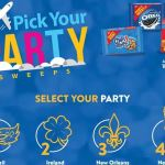 Walmart Pick Your Party Sweepstakes (mondelez.promo.eprize.com)