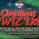 Christmas WIZ List Sweepstakes (wiznation.com)