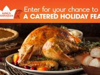 King's Hawaiian Cater My Holiday Dinner Sweepstakes
