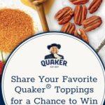 Quaker Oatmeal Favorite Flavors Sweepstakes (img.rewardpromo.com)