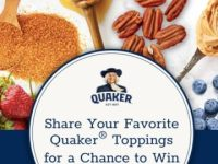 Quaker Oatmeal Favorite Flavors Sweepstakes