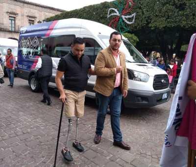 Debe ser municipio encargado del Transporte para personas con discapacidad