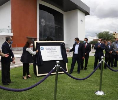 Inauguran teatro de la ciudad, tuvo un costo de 119 millones de pesos