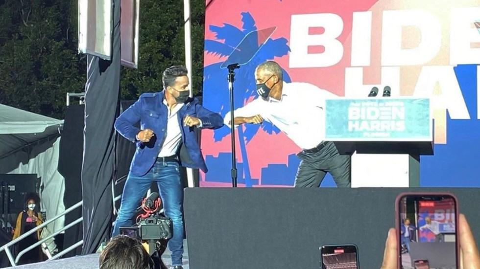 """Obama pide a latinos en Florida """"votar como si la vida dependiera de ello"""""""