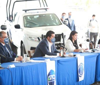Se fortalecerá la Seguridad Pública  de los municipios con equipamiento y unidades