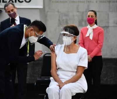 México arranca plan de vacunación anticovid
