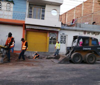 El SAPAF aprovecha obra del municipio para evitar problemas de vialidad y abrir al mismo tiempo