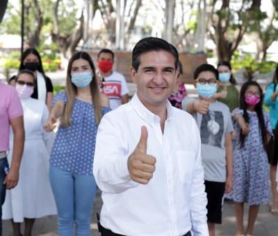 Se compromete Poncho Borja a impulsar el Acceso y Cobertura de Internet para los Estudiantes del Distrito XIX.