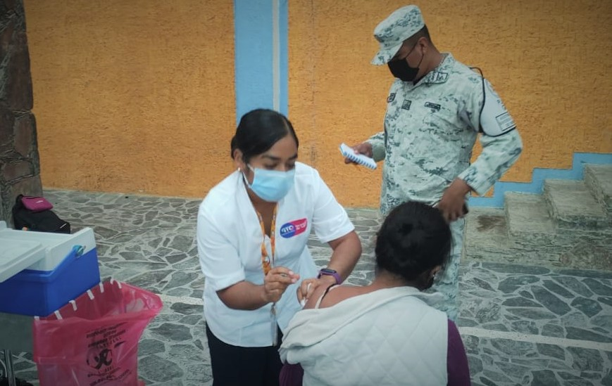 Da inicio sin contratiempos vacunación de sector de 30 a 39 años en el noreste de Guanajuato