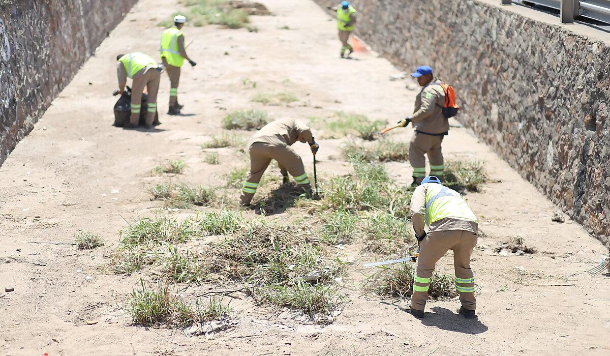 SAPAL ayuda con las labores de limpieza en ríos y arroyos