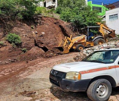 Atienden reportes sobre afectaciones por las lluvias en Guanajuato Capital