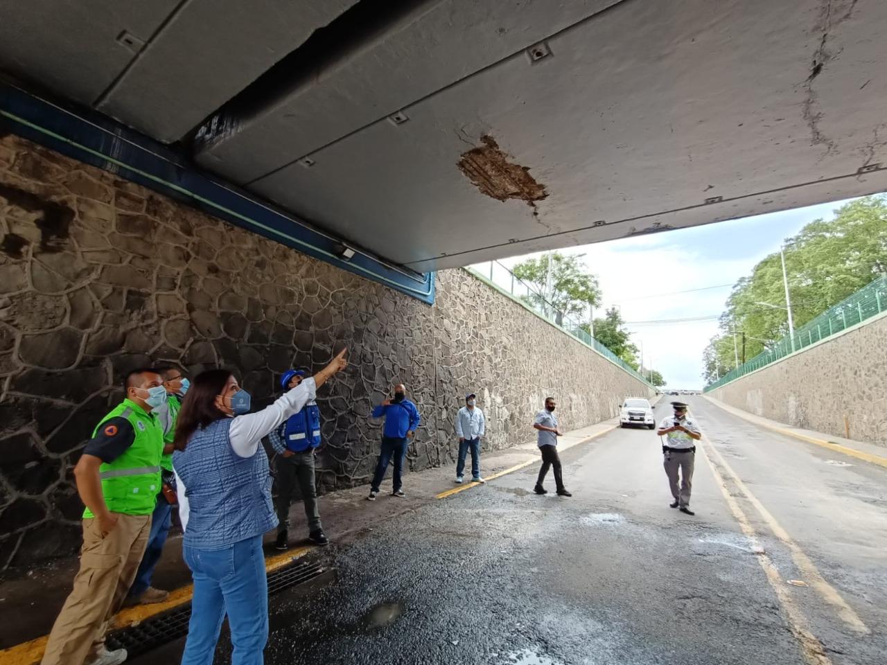 Permanecerá cerrado paso vial en puente de Insurgentes