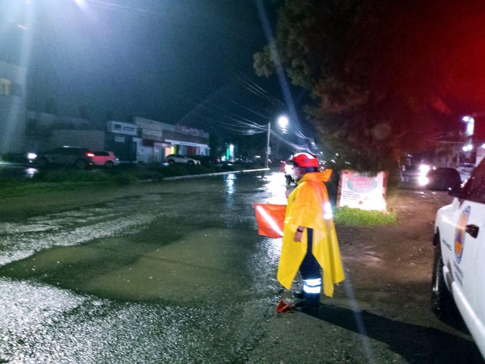 ATIENDE PROTECCIÓN CIVIL REPORTES TRAS INTENSA LLUVIA EN IRAPUATO