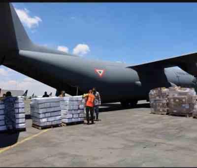 México apoya con víveres e insumos médicos a Haití tras sismo