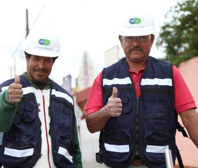 Trabajan CEAG y Municipio de San Francisco del Rincón en colector pluvial