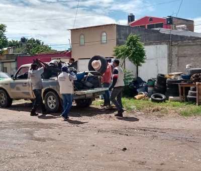 SSG mantiene actividades de prevención de dengue en los municipios de la Jurisdicción Sanitaria de Celaya