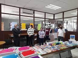 Se suma la Universidad Tecnológica de Salamanca a la colecta de útiles escolares que lleva a cabo el Voluntariado de la SEG