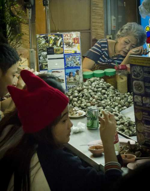 Bangkok Thai Cuisine: Beer and Cockles