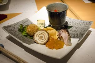Hayama - Wagyu Beef Restaurant, Tokyo: Second course