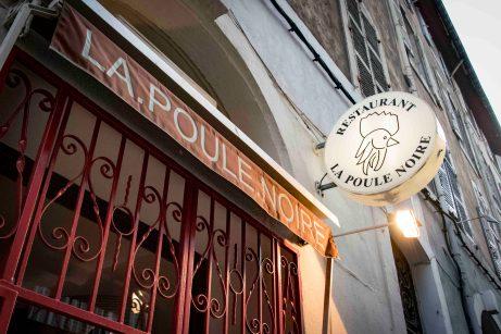 Restaurant in Marseille - La Poule Noire