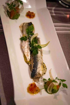 La Poule Noire, restaurant in Marseille: Sardines