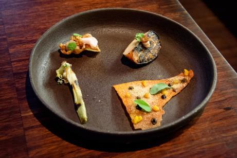 La Degustation Boheme Bourgeoise - The Best Restaurant in Prague - The Amuse-Bouche