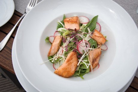 Coda, Prague - Salmon Salad