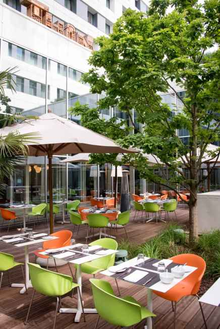 Thon Hotel Brussels EU - The Back Patio