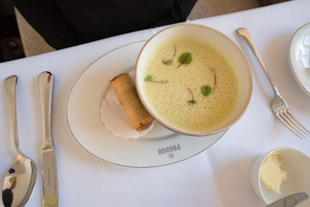 Munich Restaurants: Pageou - Cauliflower and coconut milk soup