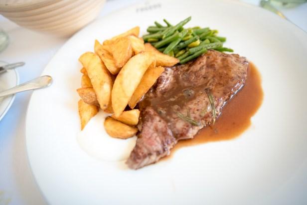 Munich Restaurants: Pageou - Steak frites
