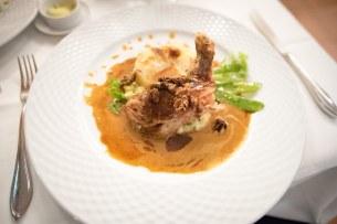 French restaurant in Munich – Guinea fowl