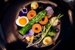Restaurant JAN, Nice, France - The Salmon Dish