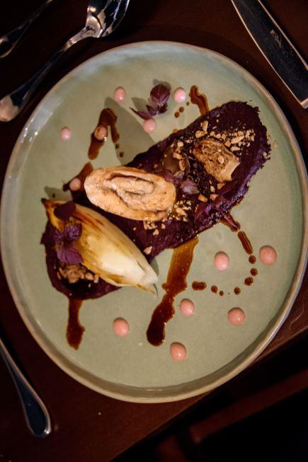 Restaurant JAN, Nice, France - Roulade of guinea fowl