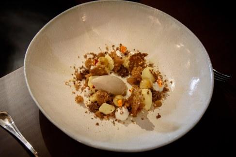 Restaurant JAN, Nice, France - The Roasted Banana Dessert