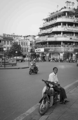 Au centre-ville de Hanoi
