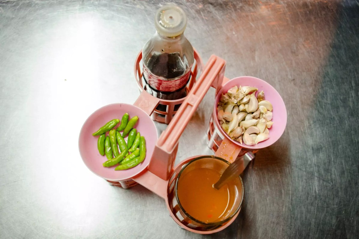 Things to do in Bangkok - The Ubiquitous Condiments where to stay in Bangkok