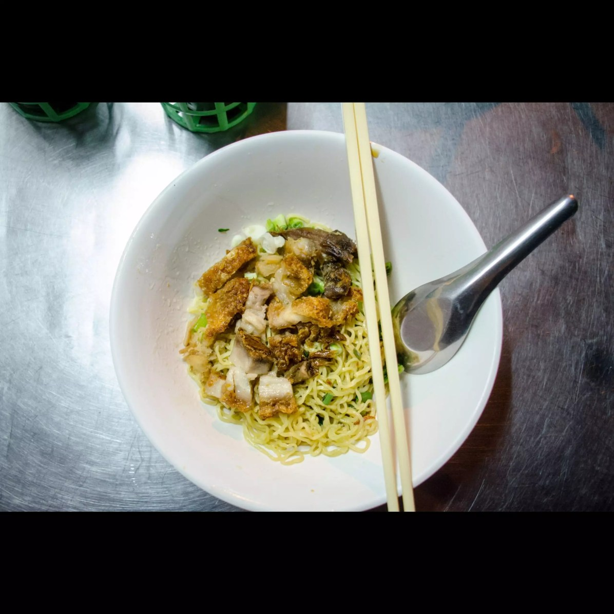 Bangkok Thai Cuisine: Crispy Pork and Noodles