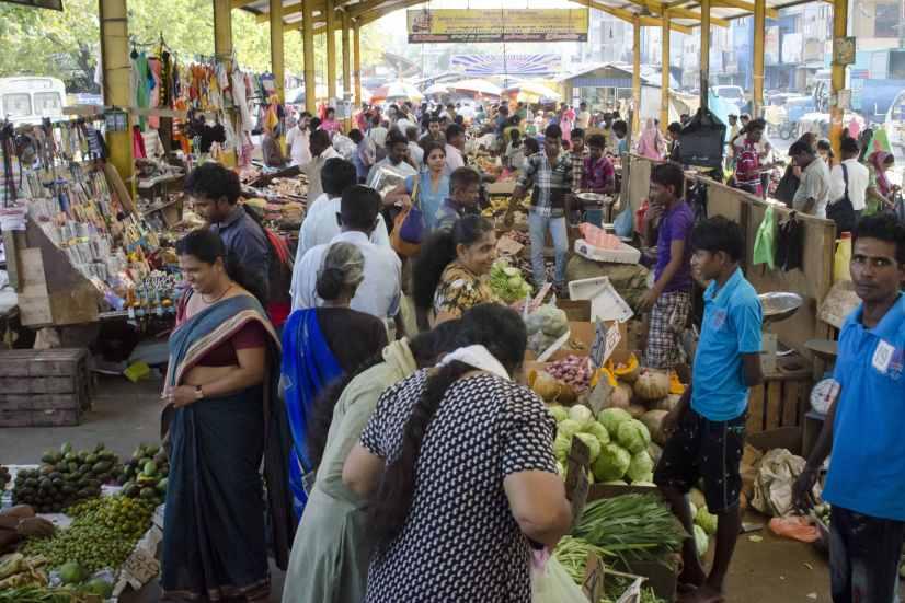 Voyages au Sri Lanka: Le marché est animé