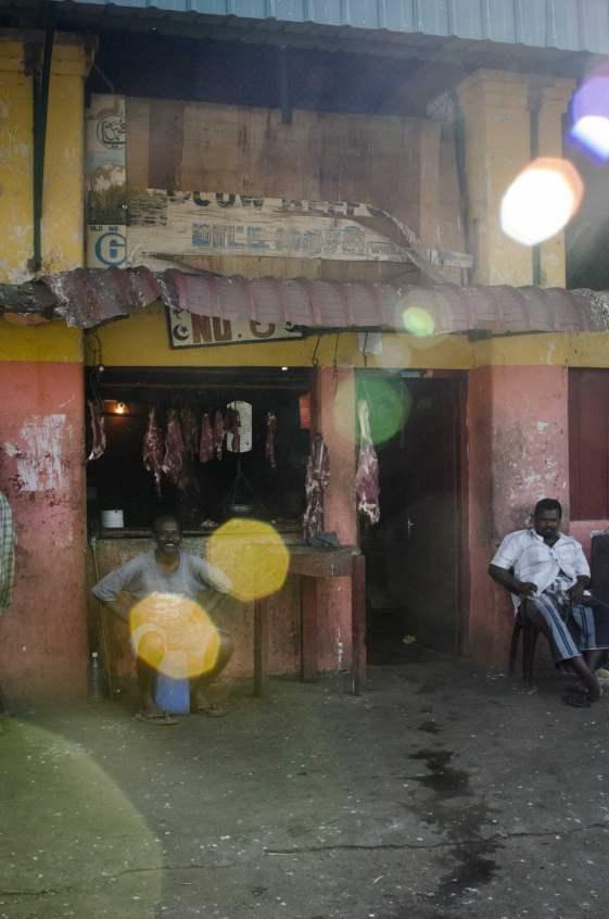 Visiting Sri Lanka: A butcher shop