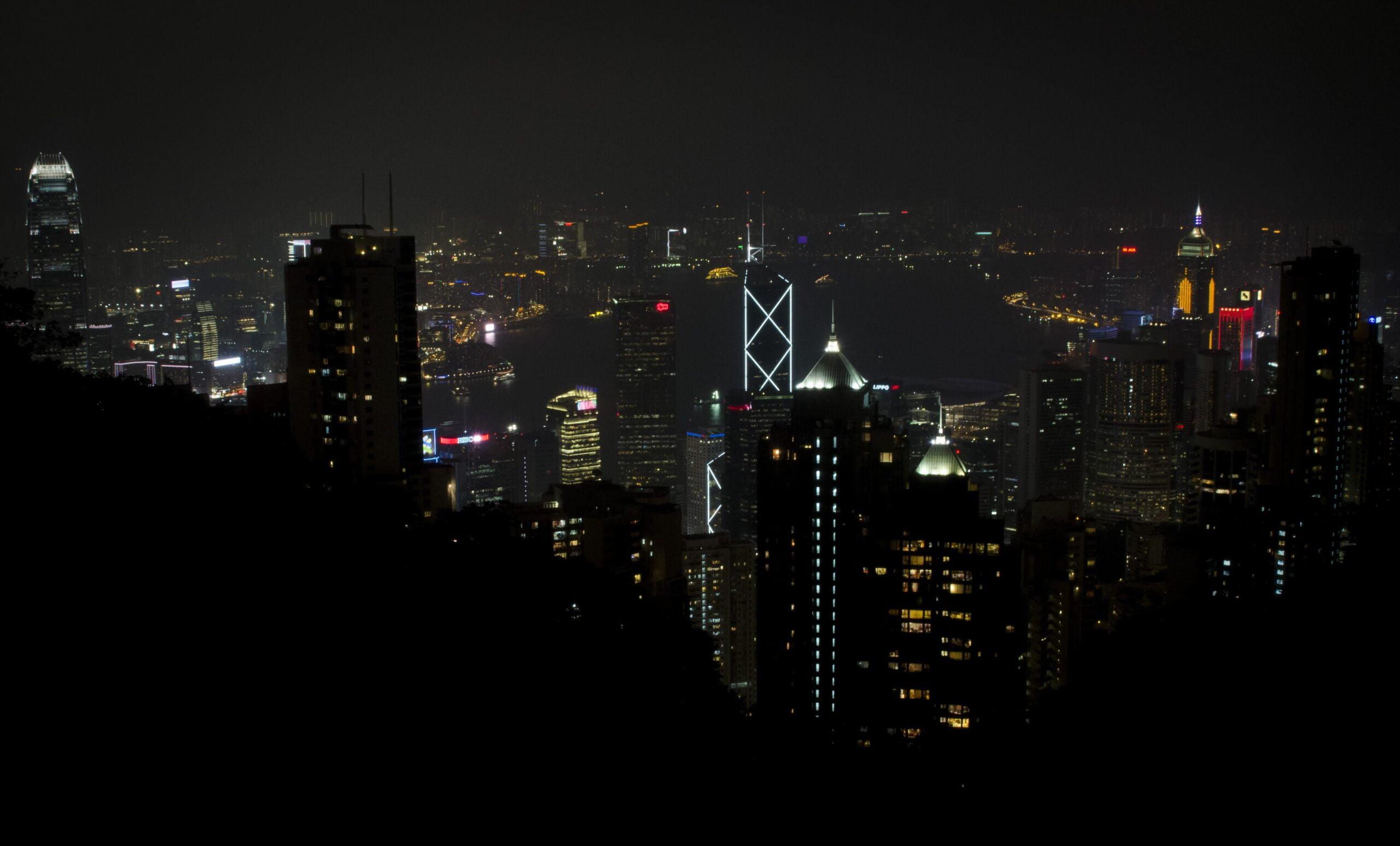 Hong Kong Travel Blog - Hong Kong Suckling Pig: Hong Kong at Night