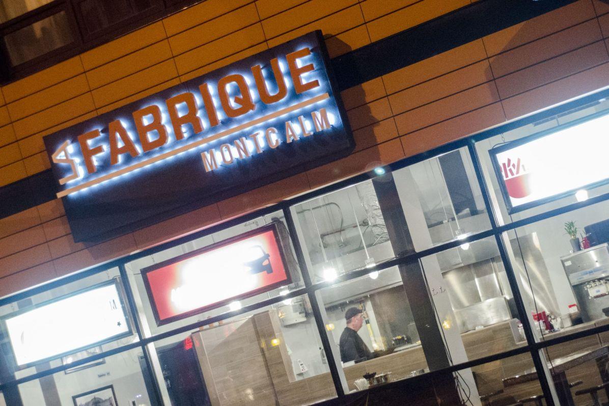 restaurants à Québec: La Fabrique Montcalm