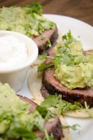 Tacos de steak