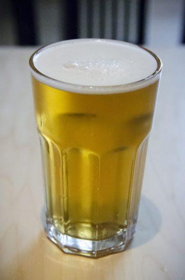 Une petite bière fraiche?
