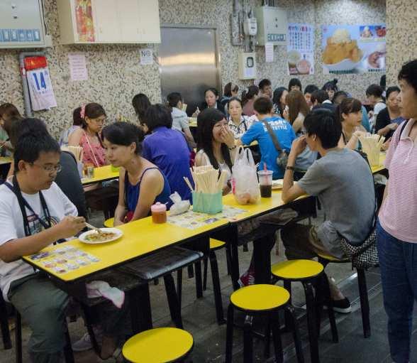 Cuisine de rue à Taïwan: Au sous-sol!