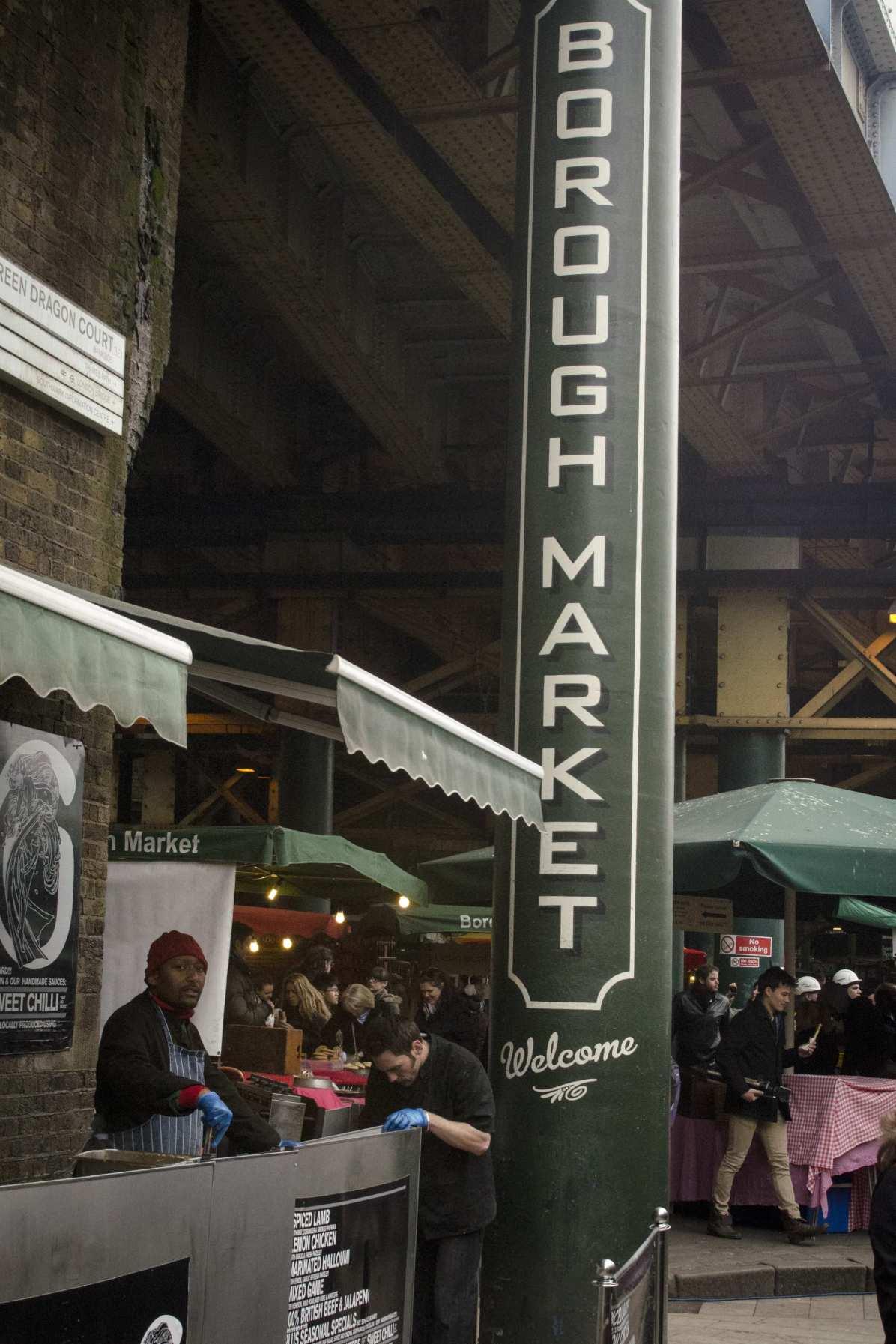 London neighborhoods - The Borough Market - Eat well in London