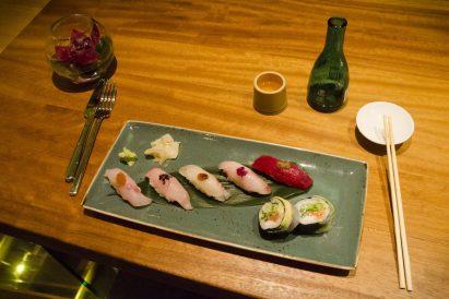 Comment manger des sushis: nigris, Shinji à Montréal