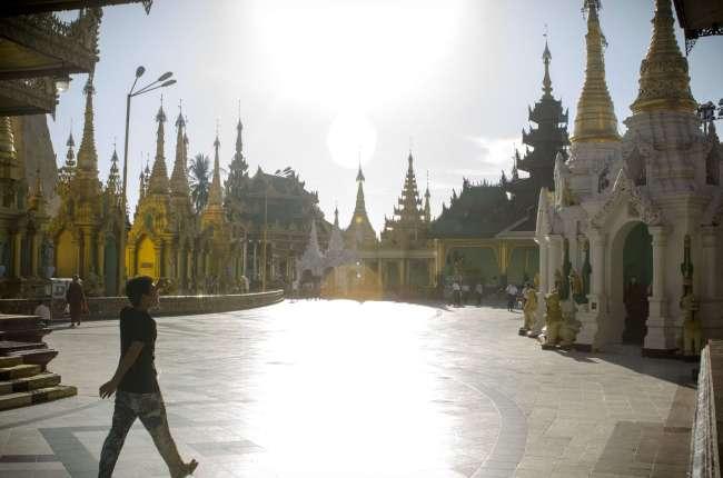 La pagoda Sule
