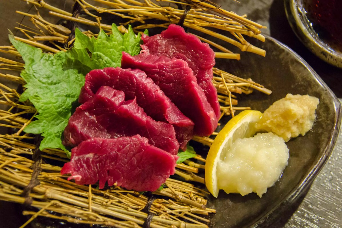 Visiter Tokyo: Sashimi de cheval